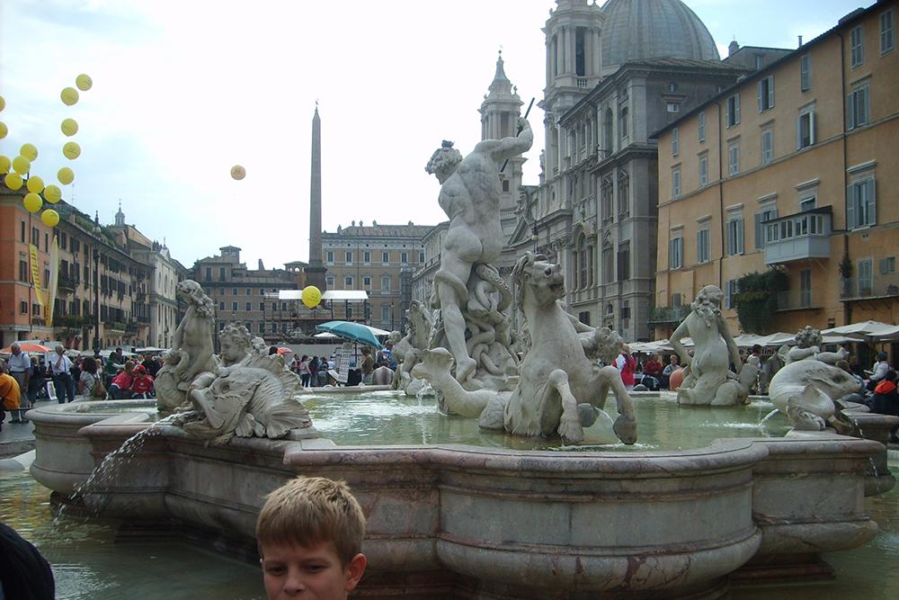 Piazza Navona Meydanı