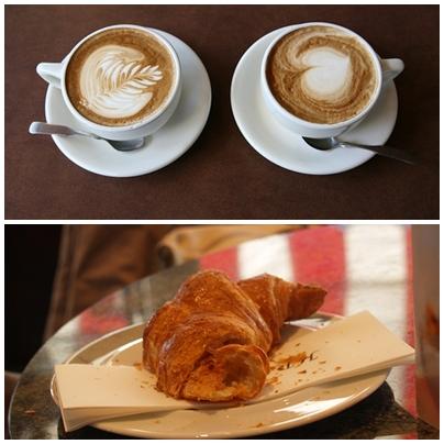 İtalyan Kruvasanı (Briosche) ve Espresso
