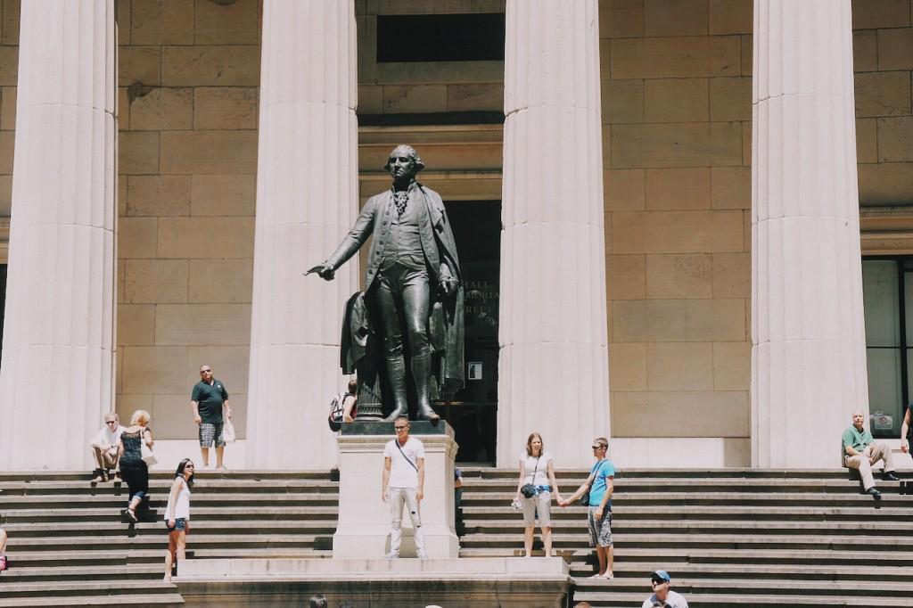 George Washington Heykeli