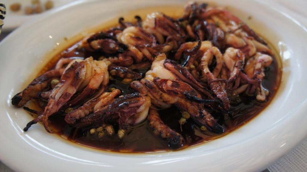 Grilled Squid Legs