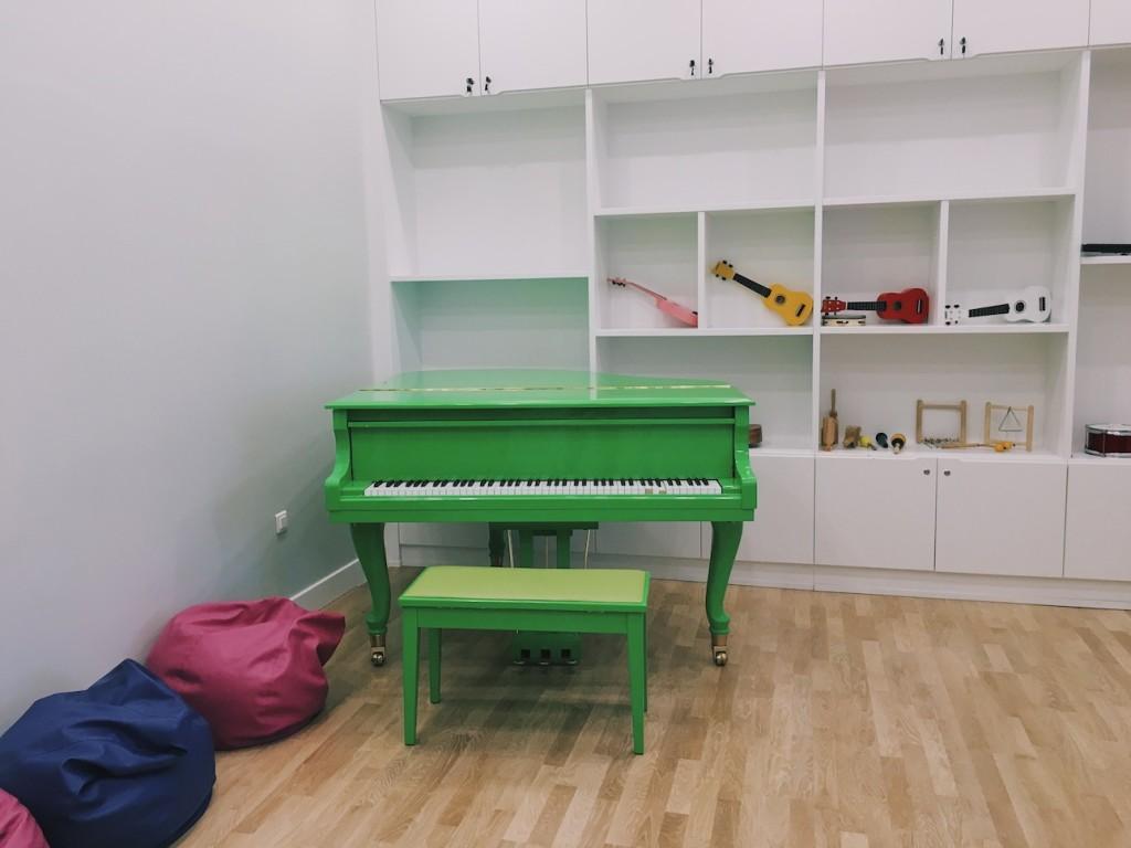 Pique Family Club Music Room