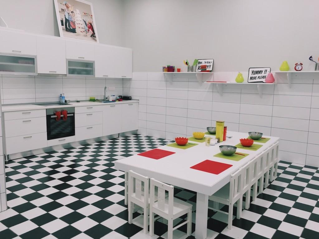 Pique Family Club Kitchen