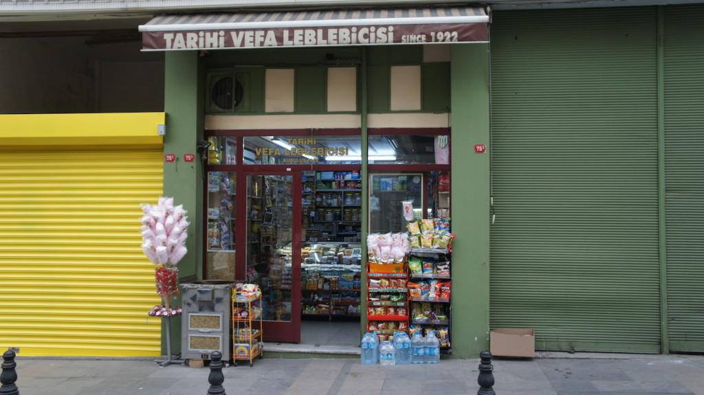 Tarihi Vefa Leblebicisi