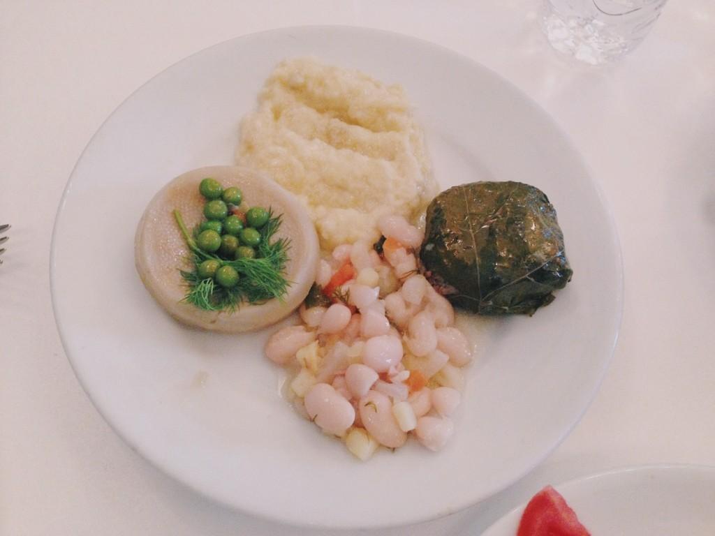 Pandeli Restaurant Zeytinyağlı Tabağı