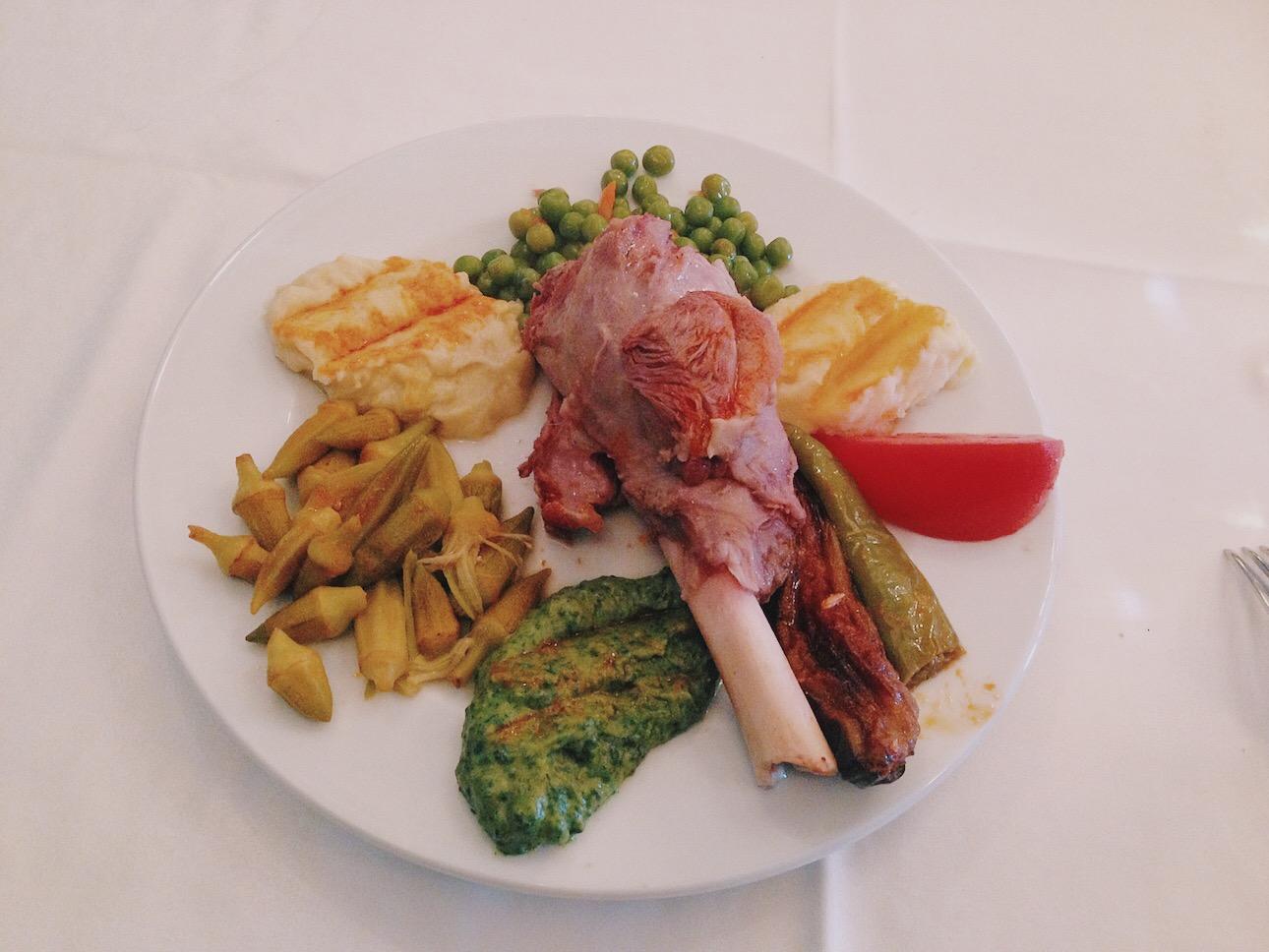 Pandeli Restaurant Kuzu İncik