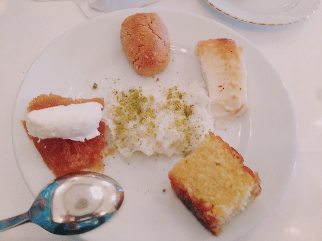 Pandeli Restaurant Tatlı Tabağı