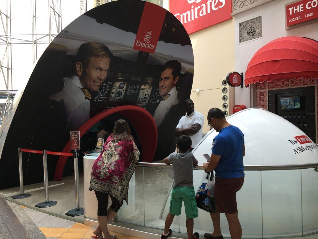 Dubai Mall Flight Simulator